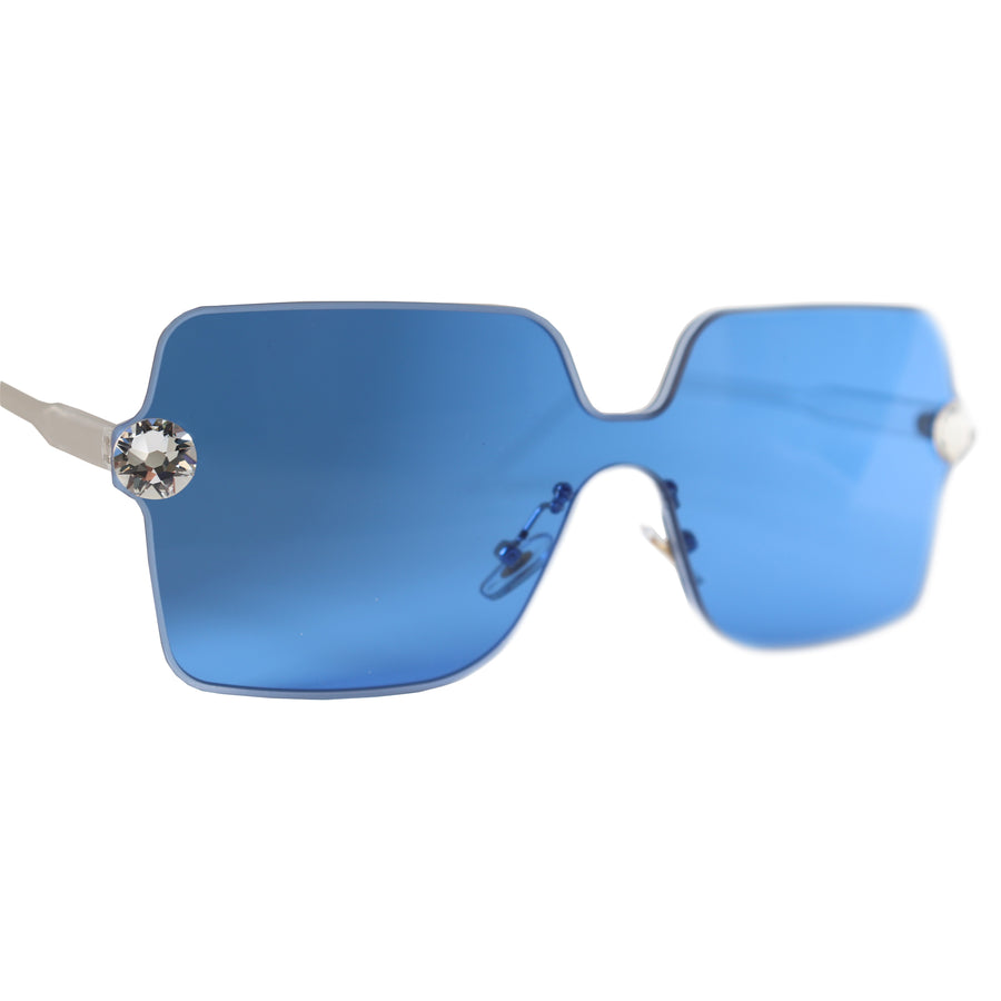 Naomi JewelShades Sunglasses (Blue)