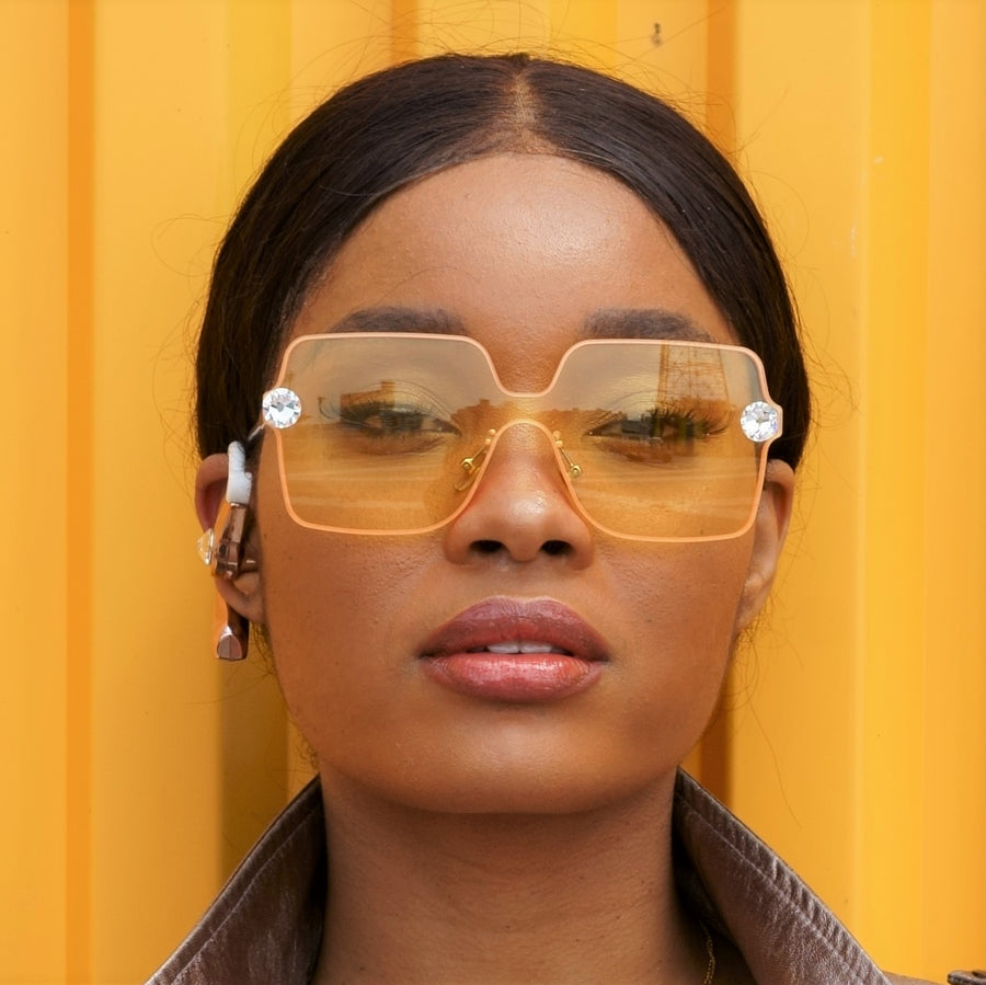 Naomi Crystal JewelShades (Yellow)