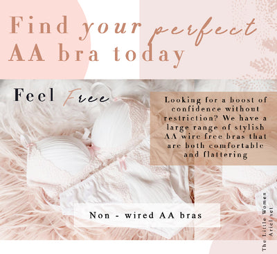 2A Tuesday - This Weeks Little Women AA Cup Bra Recommendations!