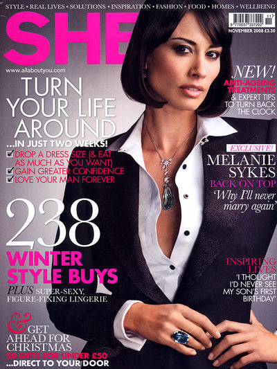 SHE Magazine - November 2008 - For women who juggle their lives