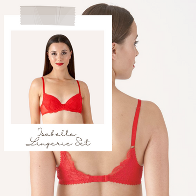 Introducing the Little Women Isabella Lingerie Set