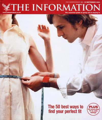 The Information Magazine, The Independent - September 2003