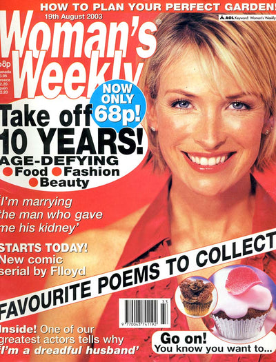 Woman's Weekly Magazine - August 2003