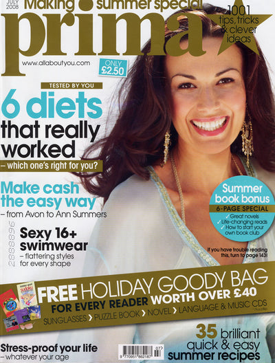Prima Magazine - July 2008 - Making Summer Special