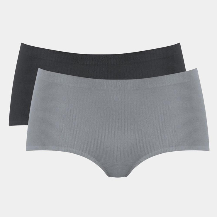 Sloggi mOve Sports Briefs Shorty Black&Grey