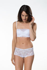 After Eden Anna Lace Bandeau Strapless Bra