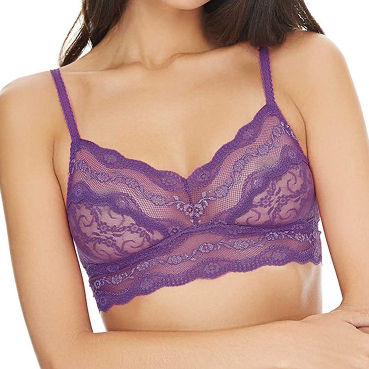 B.Tempt'd Lace Kiss Bralette - Pansy