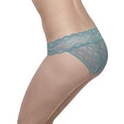 B.Tempt'd Lace Kiss Bikini Brief - Blue Smoke