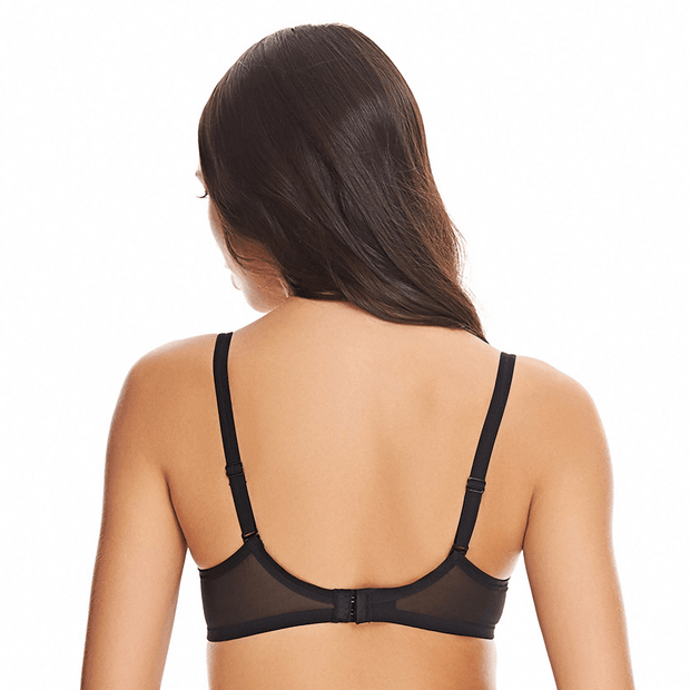 Classic Reinvention Soft Cup Bra Back in Black