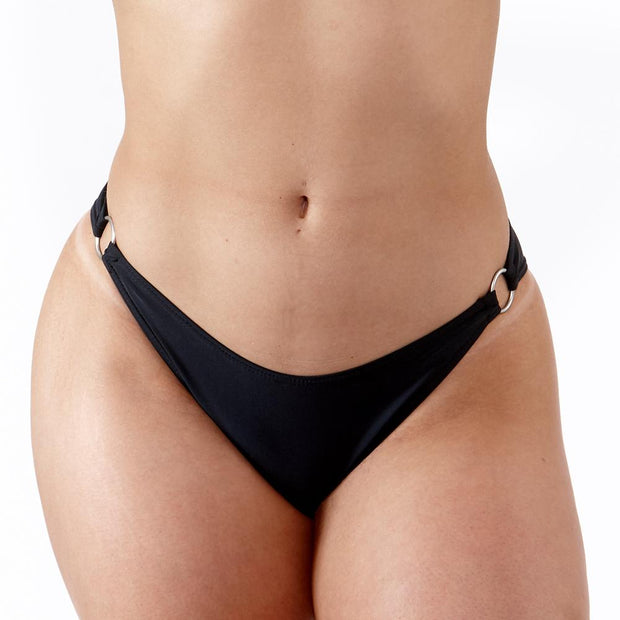 EMRLD - Coco Bikini Bottom with side ring details