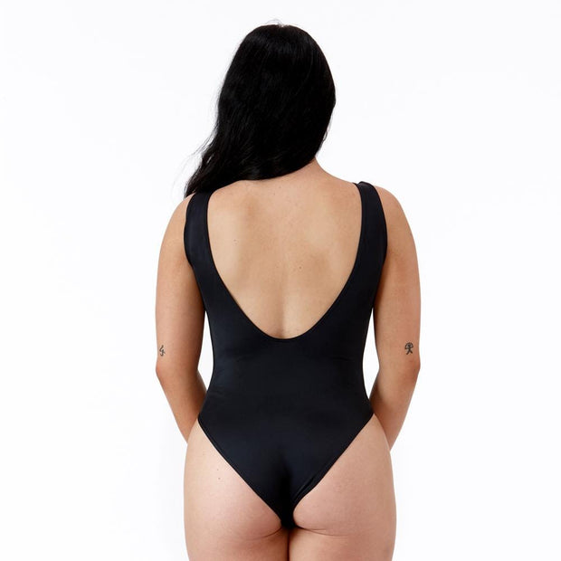 Emrld - Pamela - swimsuit for AAA cups in black