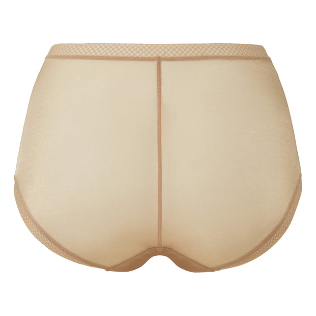 Gossard Glossies Deep Short nude - back