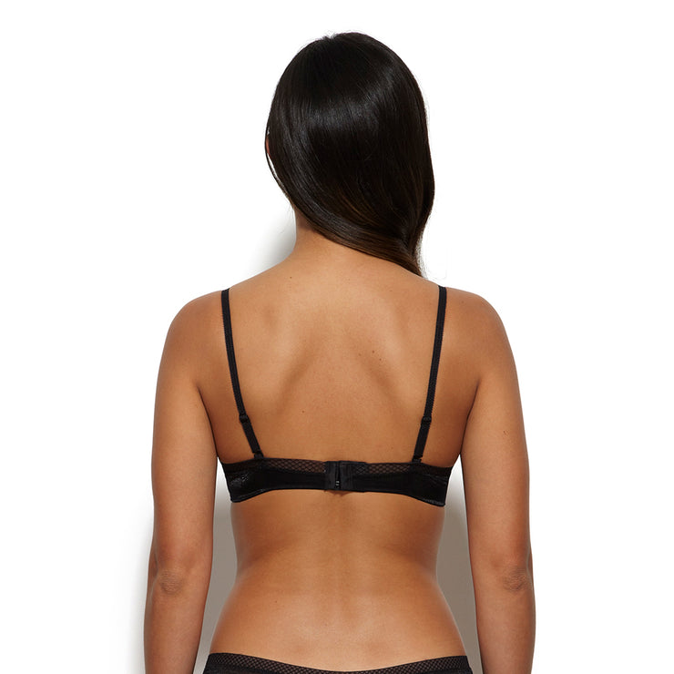 Gossard Glossies Sheer Bra - back view