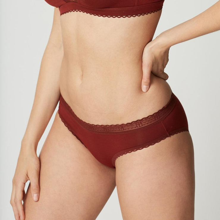 Maison Lejaby La Petite Lejaby Short - Rust - Petite Lingerie From little Women