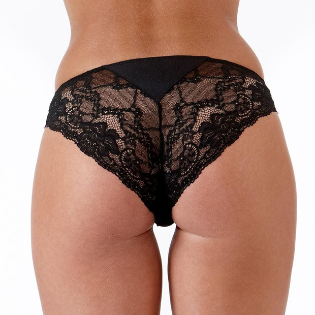 The LittleWomen Brief Black Back
