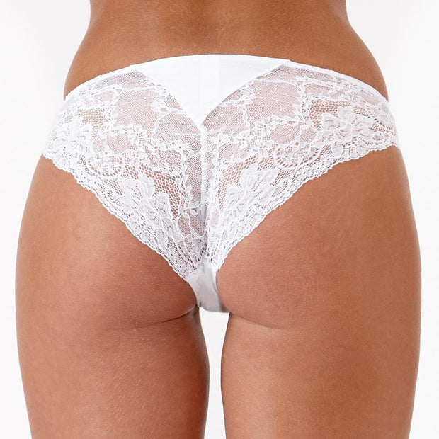 The LittleWomen Brief White Back
