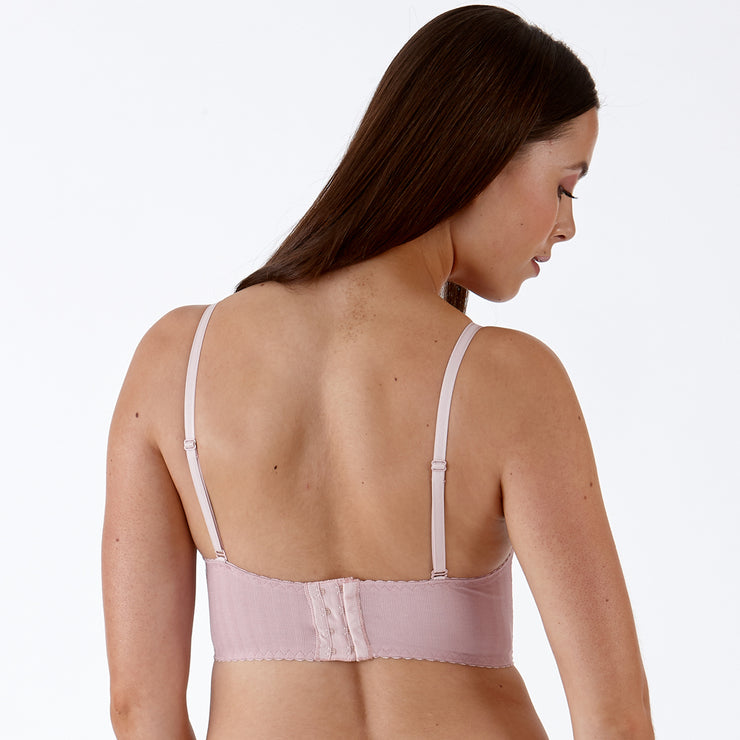 Little Women ELLA Long Line Underwired Bra back