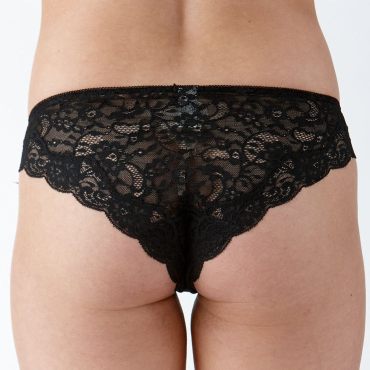 Lulu Brief Black - Back View