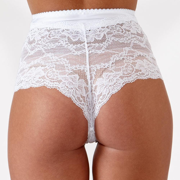 The Little Women Shortie Brief White - Perfect Small Lingerie