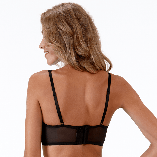 Roxy Bra Black Back - Small Bras From Little Women