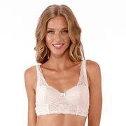 Roxy Bra Peony - Small Wirefree Padded Bra From Littlewomen.com