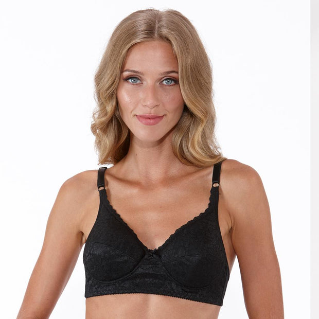 Silhouette U36 Bra In Black - Small Bras