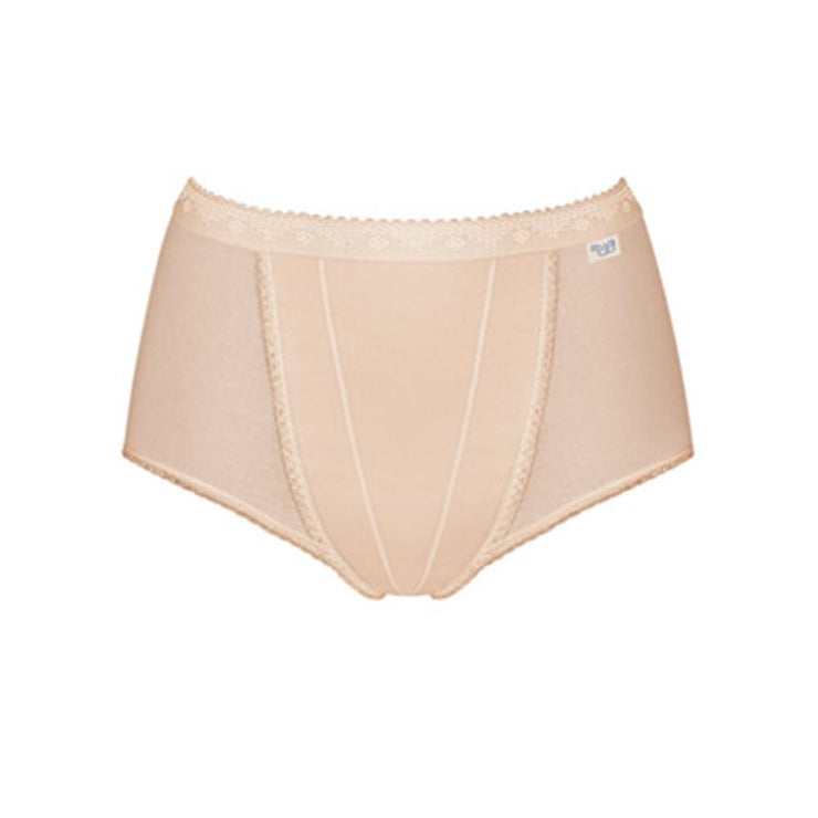sloggi Control Maxi Brief 2 Pack - Nude