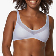 Sloggi Oxygene Infinite Soft Bra - Silver Shadow back