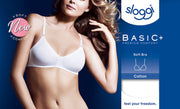 sloggi Basic+ Bra - Back - Ideal For Small Busts