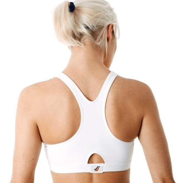 Sportjock Sports Bra - White Back View