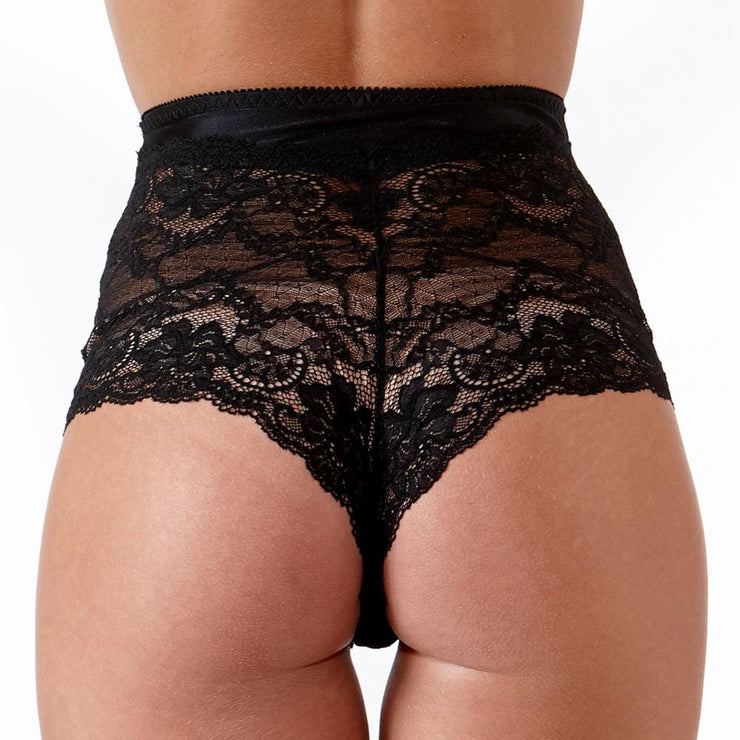 The Little Women Shortie Brief Black Back
