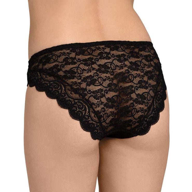 Triumph Amourette 300 Magic Wire Tai Brief - Black Back