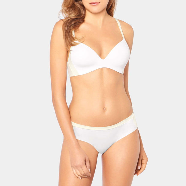 Triumph Body Make-Up Soft Touch P EX T-Shirt Bra by Triumph White