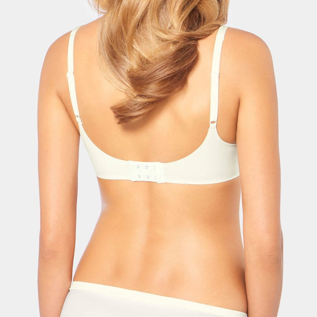 Triumph Body Make-Up Soft Touch P EX T-Shirt Bra by Triumph White Back