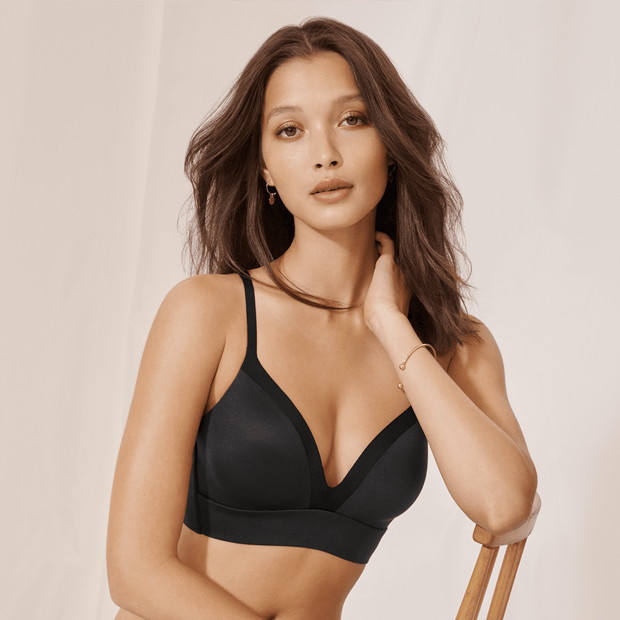 Triumph Body Make-up Soft Touch Padded T-shirt Bra - Black