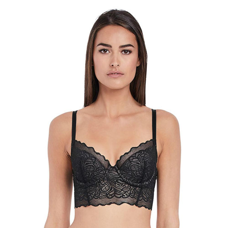 Undisclosed Lace Bralette Black