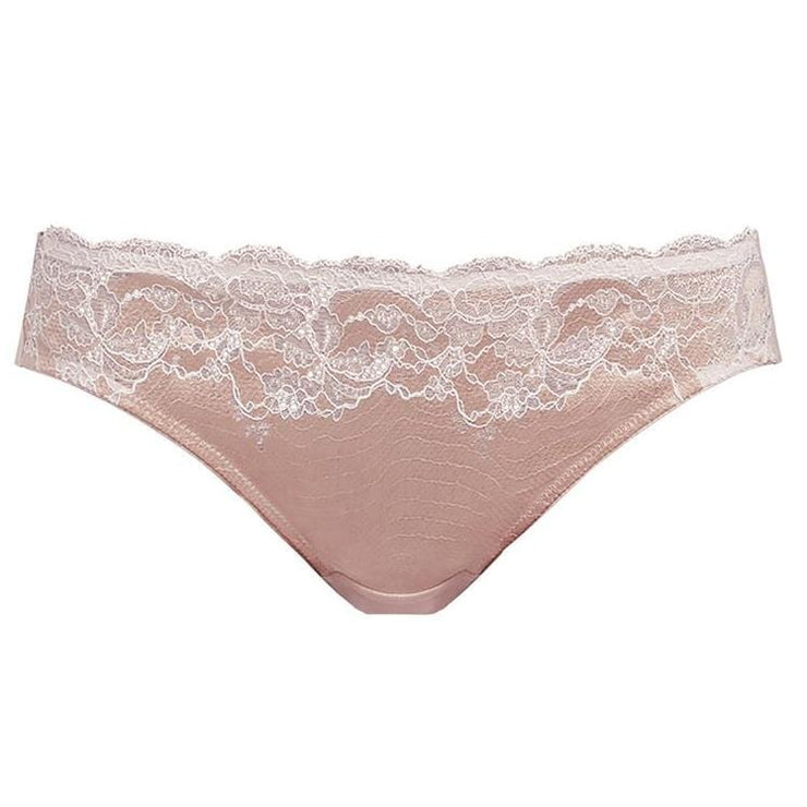 Lace Affair Brief Rose Dust