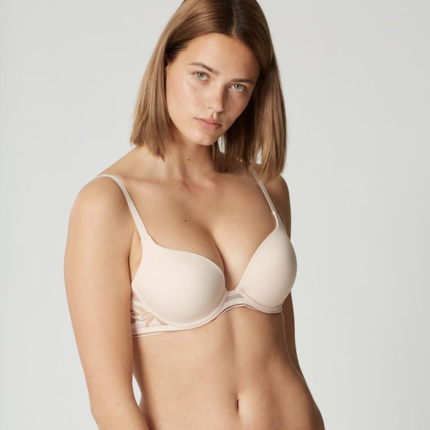 Maison Lejaby Sin Embroidered Underwired Push Up Bra