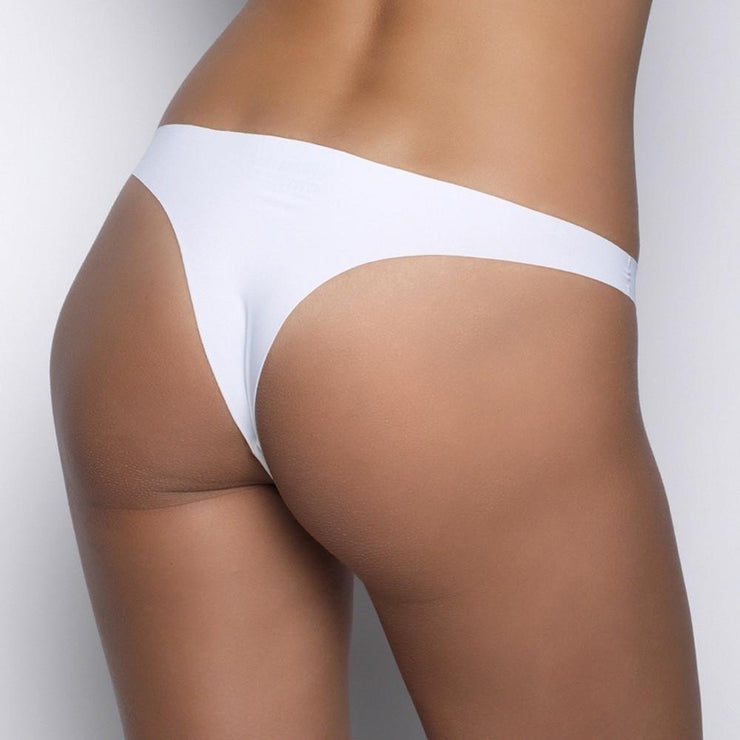 After Eden Seamless String - White