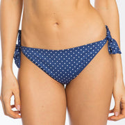 Polka Dot Bikini Tie Side Brief - Swimwear From Littlewomen.com