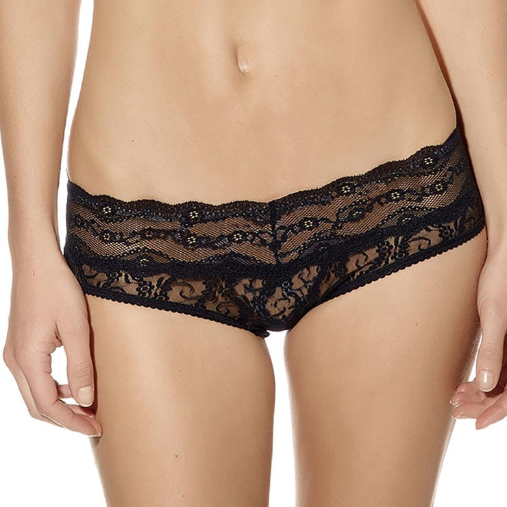 B.Tempt'd Lace Kiss Hipster Brief - Night