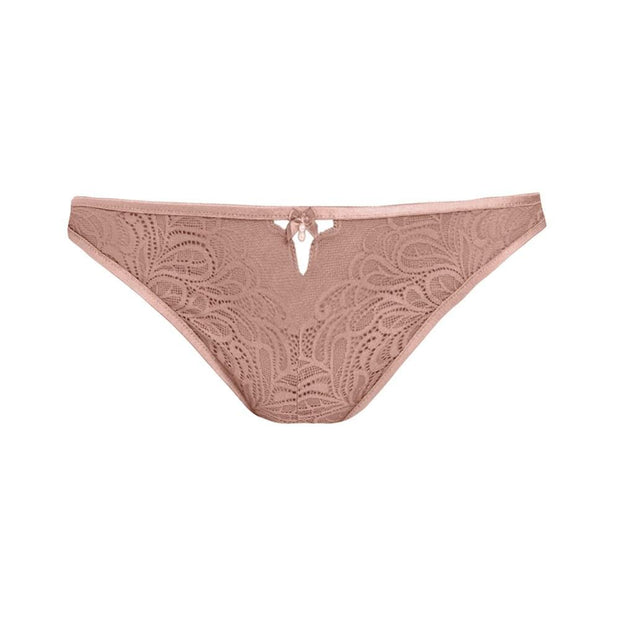 Undisclosed Lace Thong Rose Smoke