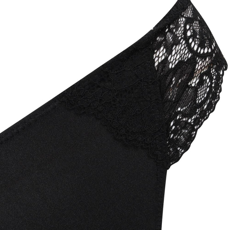 The LittleWomen Brief Black Detail