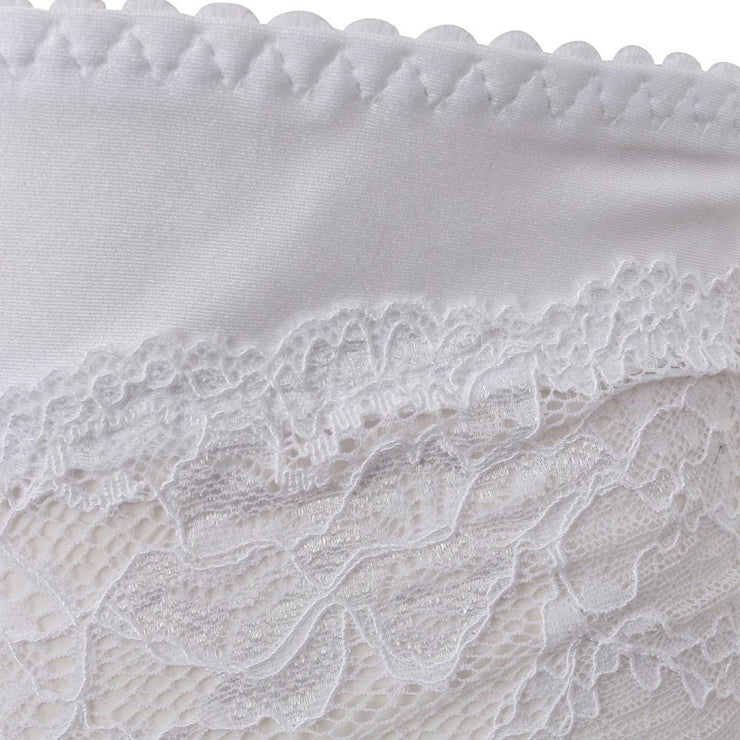 The Little Women Shortie Brief White Detail
