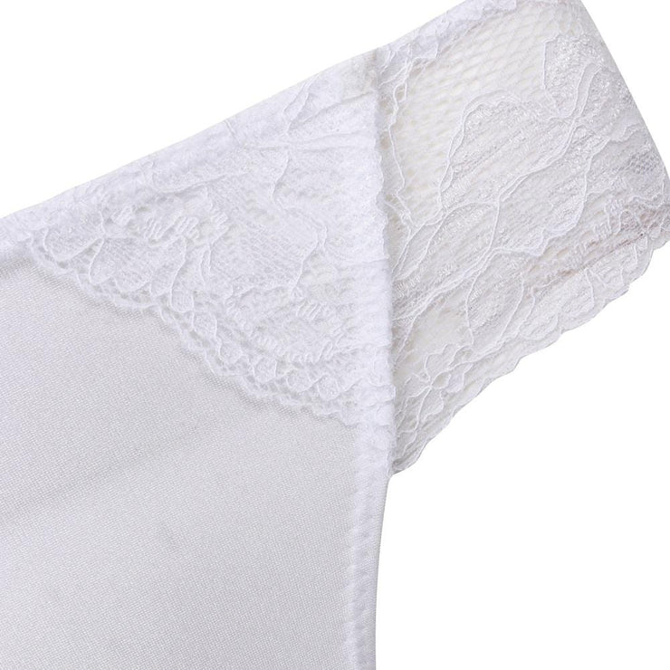 The LittleWomen Brief White Detail