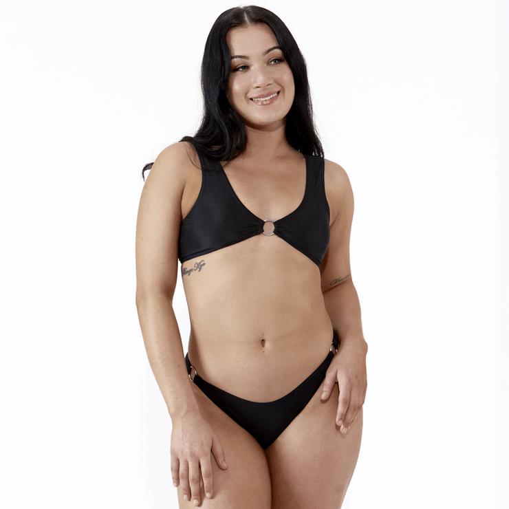 Emrld - Coco bikini - full bikini set in black
