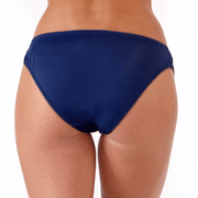 Gigi Brief Back - navy lace brief to match small cup bra by Little Women