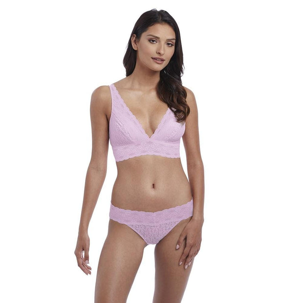 Wacoal Halo Lace Soft Cup Bra Sweet Pink