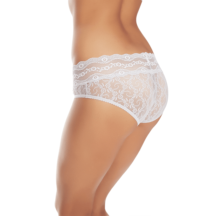 Lace Kiss Hipster Microchip