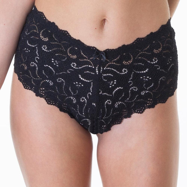 Very you lace short - Black
